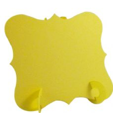 24 x Yellow Elegant Place Cards, Perfect for Stylish Weddings & Parties. Tableware UK Card Crafts